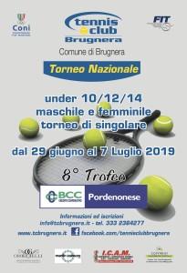manifesto torneo under 2019